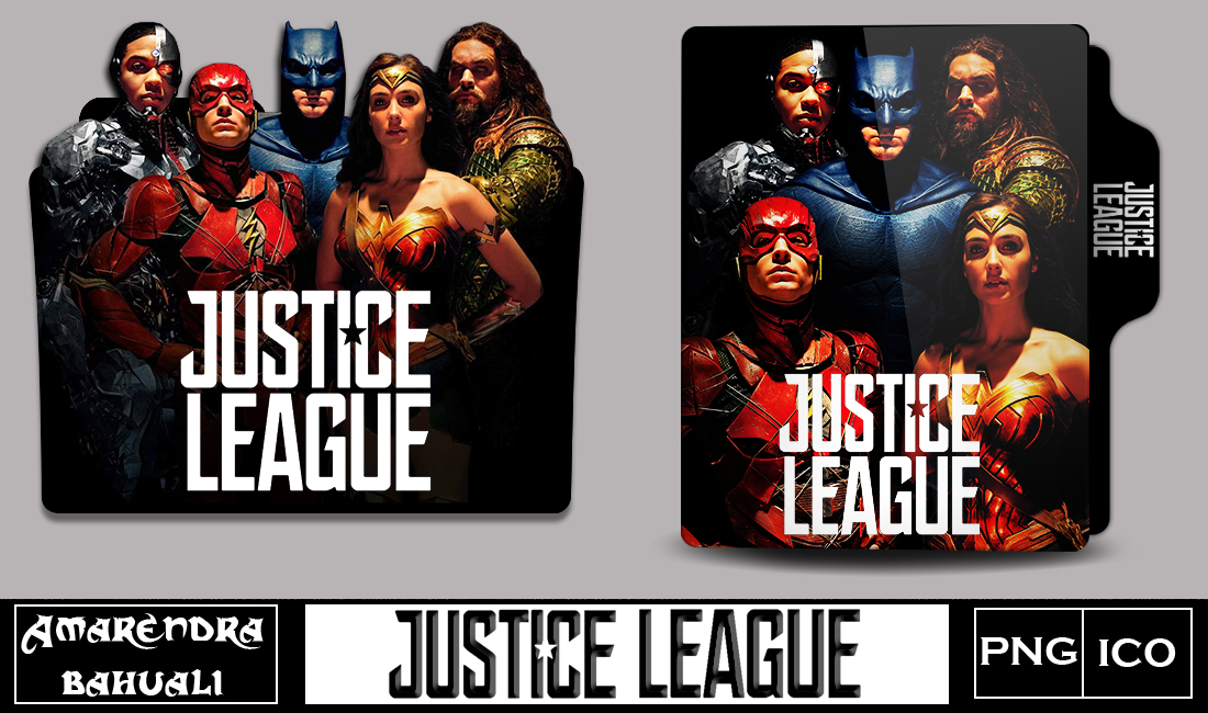 Justice League 2017 Folder Icon Updated By G0d 0f Thund3r On Deviantart