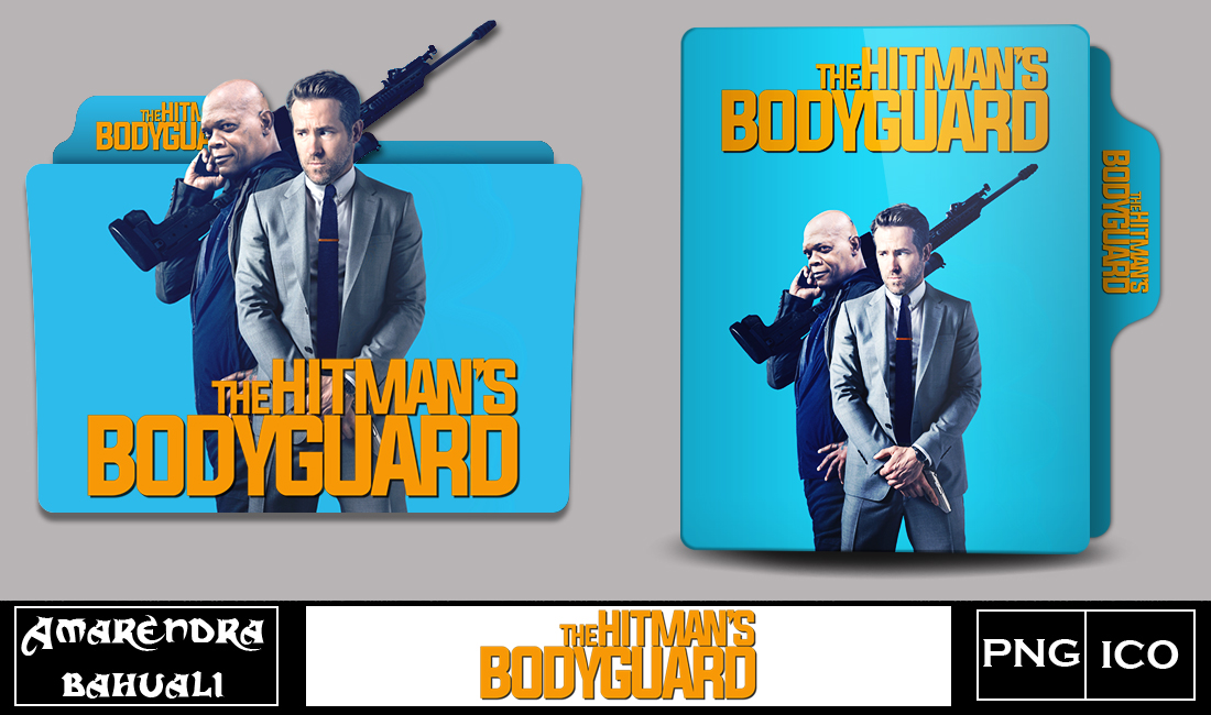 The Hitman S Bodyguard 2017 Folder Icon By G0d 0f Thund3r On Deviantart