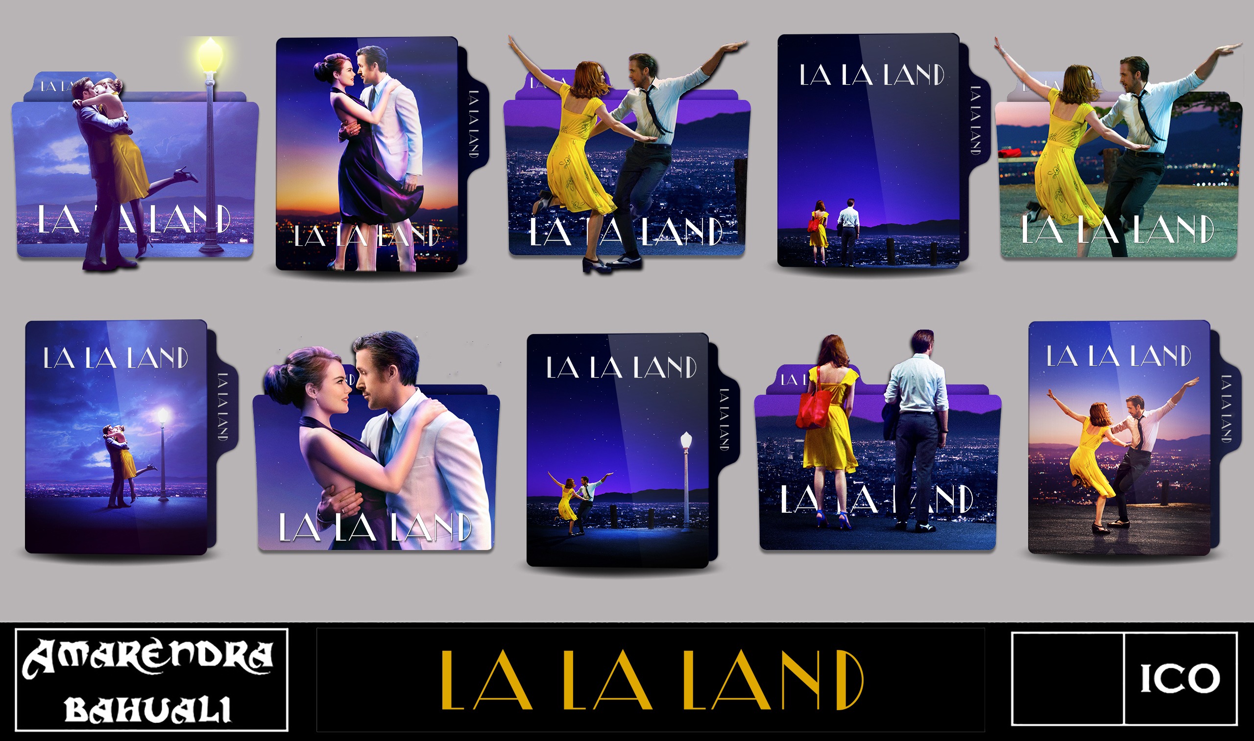 La La Land 2016 Folder Icon By G0d 0f Thund3r On Deviantart