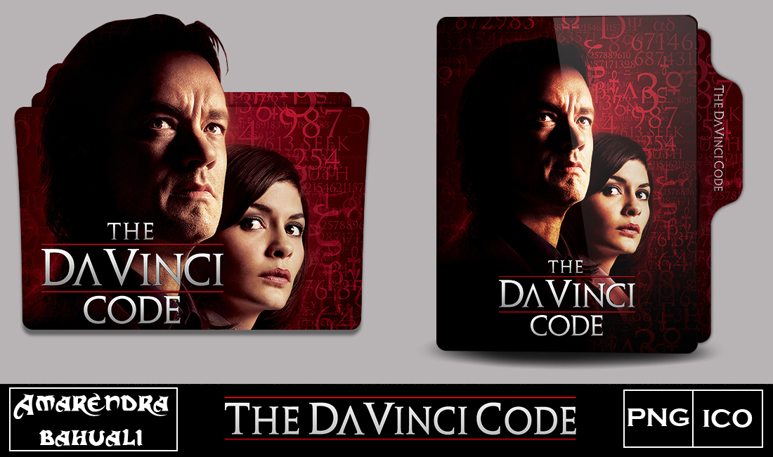 The Da Vinci Code 2003 Folder Icon By G0d 0f Thund3r On Deviantart