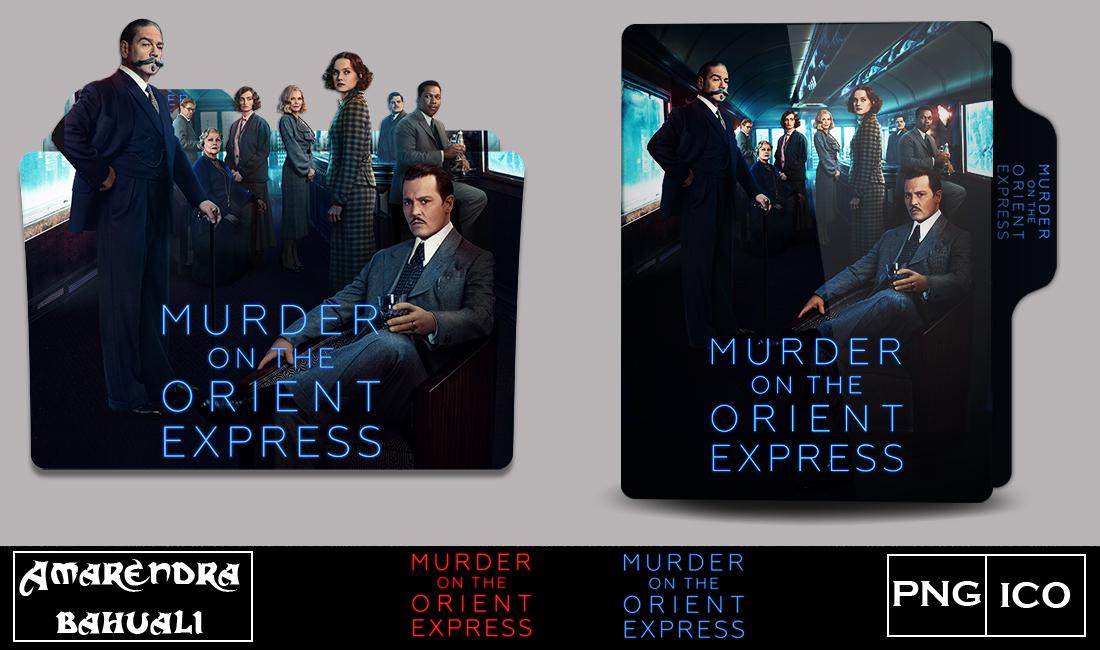 Murder On The Orient Express 2017 Folder Icon 1 By G0d 0f Thund3r On Deviantart