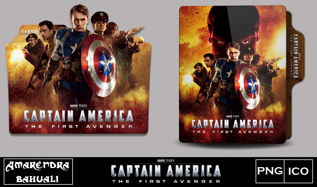 Captain America The First Avenger 2011 Folder Icon By G0d 0f Thund3r On Deviantart