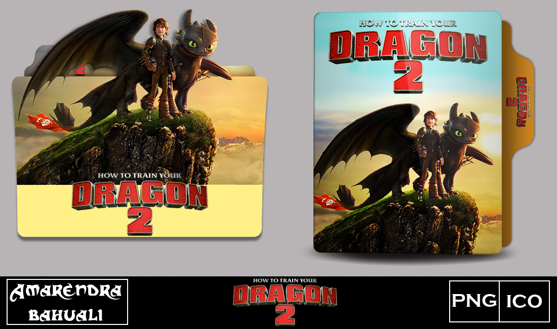 How To Train Your Dragon 2 2014 Folder Icon By G0d 0f Thund3r On Deviantart