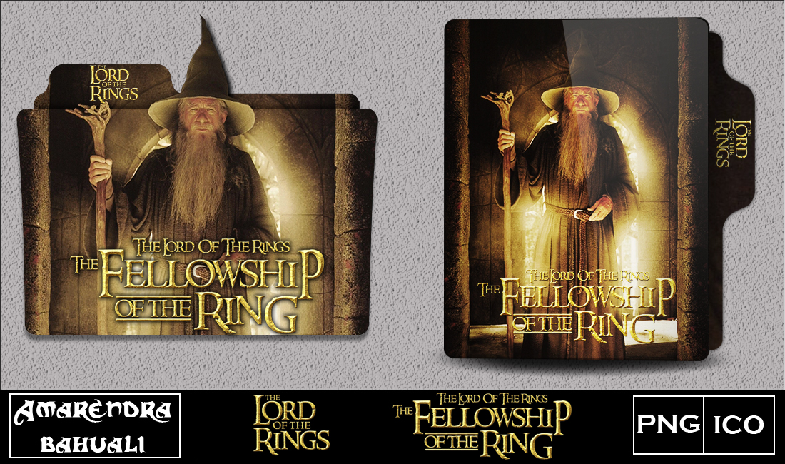 The Fellowship Of The Ring 2001 Folder Icon By G0d 0f Thund3r On Deviantart