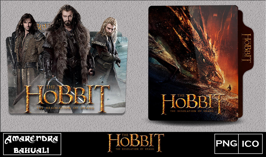 The Hobbit The Desolation Of Smaug 2013 Foldericon By G0d 0f Thund3r On Deviantart