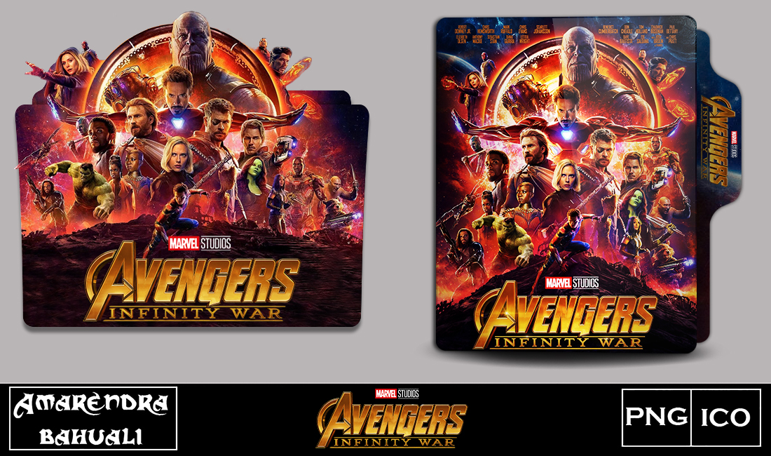 Avengers Infinity War 2018 Folder Icon Fixed By G0d 0f