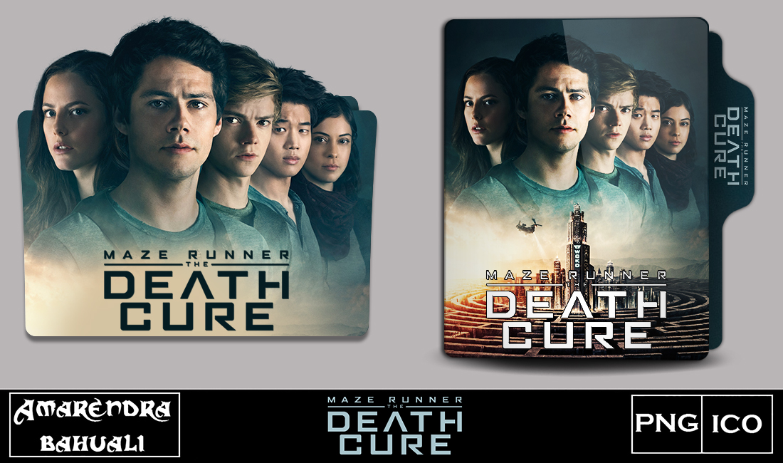 Maze Runner The Death Cure 2018 Folder Icon By G0d 0f Thund3r On Deviantart