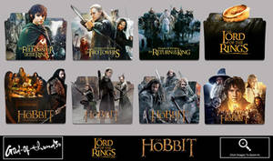 The Lord Of The Rings Hobbit folder icon