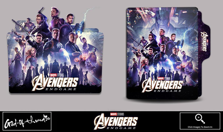 Avengers Endgame 2019 Folder Icon By G0d 0f Thund3r On Deviantart