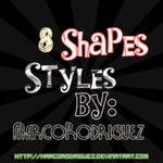8 shapes styles