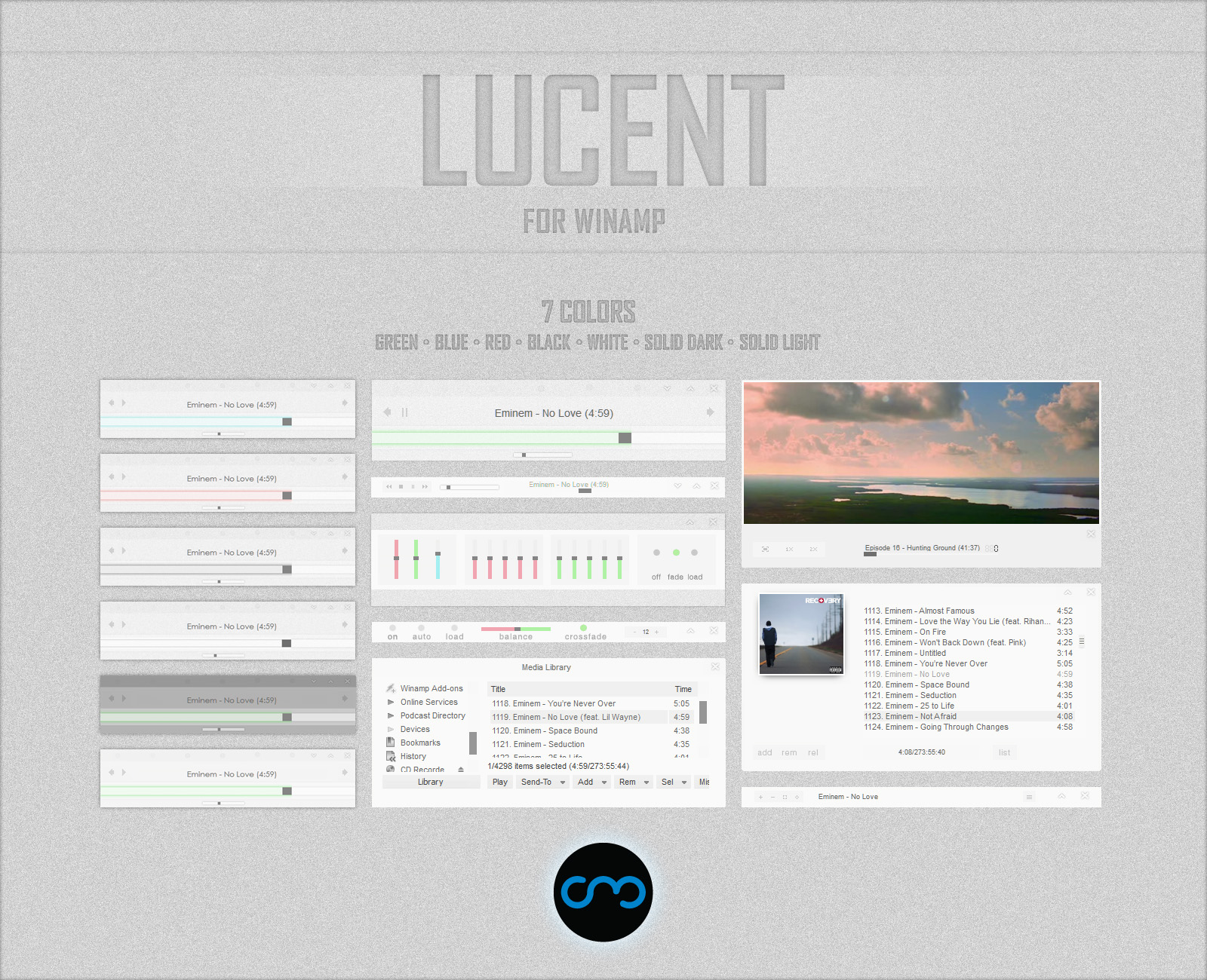 Lucent for Winamp by C---M on DeviantArt