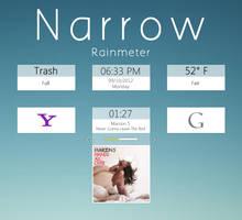 Narrow for Rainmeter by C---M
