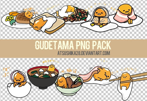 ((More)) [PNG PACK] Gudetama