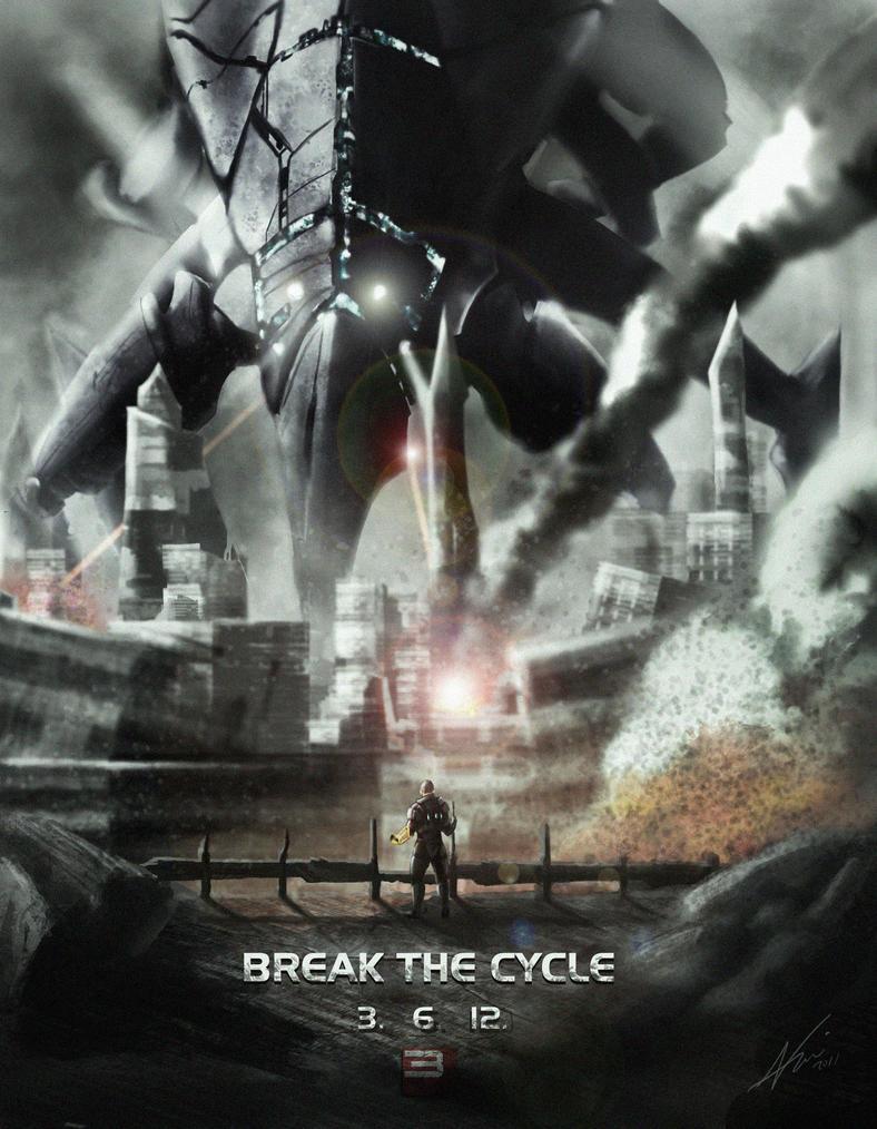 Mass Effect 3 Alternate Endings. SPOILERS by Arkis