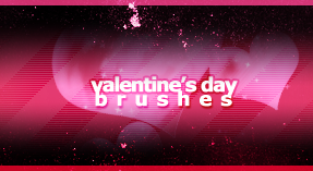 Valentine's Day Brushes by Bonooru