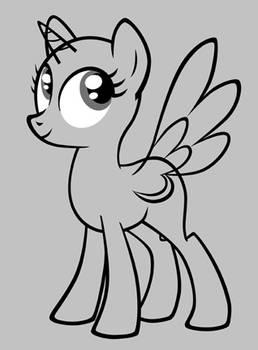 My Little Pony- Mare Base Model (EDITED)