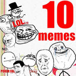 PACK 10 memes PNG