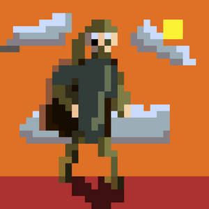 Run from the Sun (for #pixel_dailies)