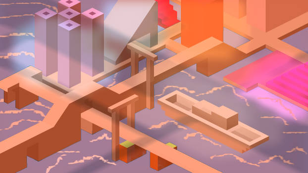Wave City Day/Night -Hexels Quick Experiment