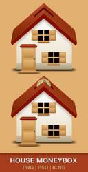 House Moneybox by KazumaAzuma