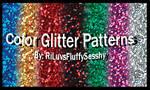 Color Glitter Patterns