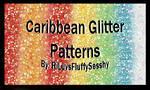 Caribbean Glitter Patterns