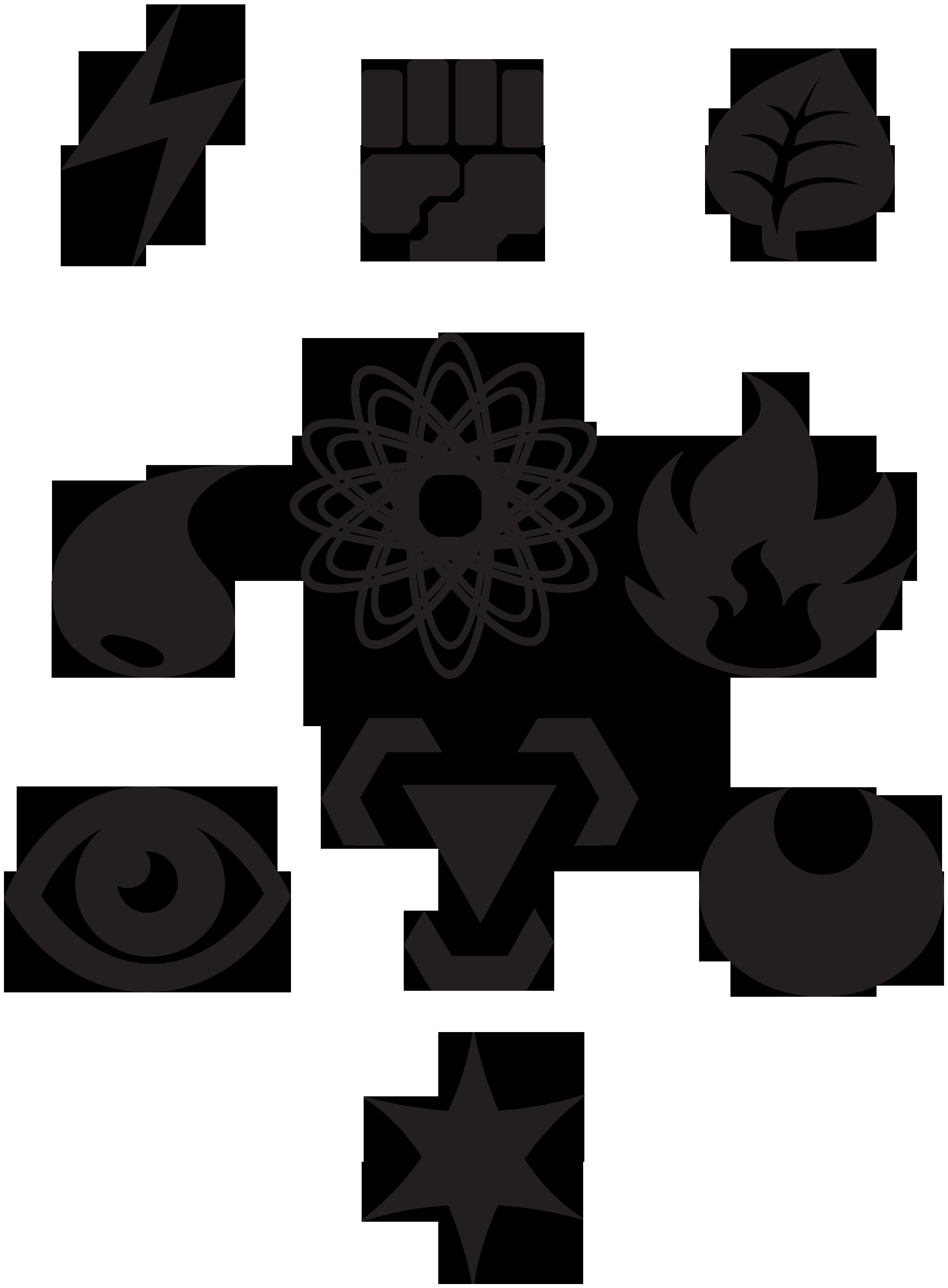 Energy Type Pokemon Symbol