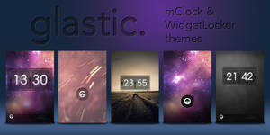Glastic Themes! - WL + mClock