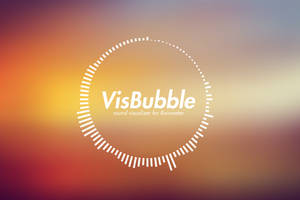 VisBubble: Round Visualizer for Rainmeter by undefinist