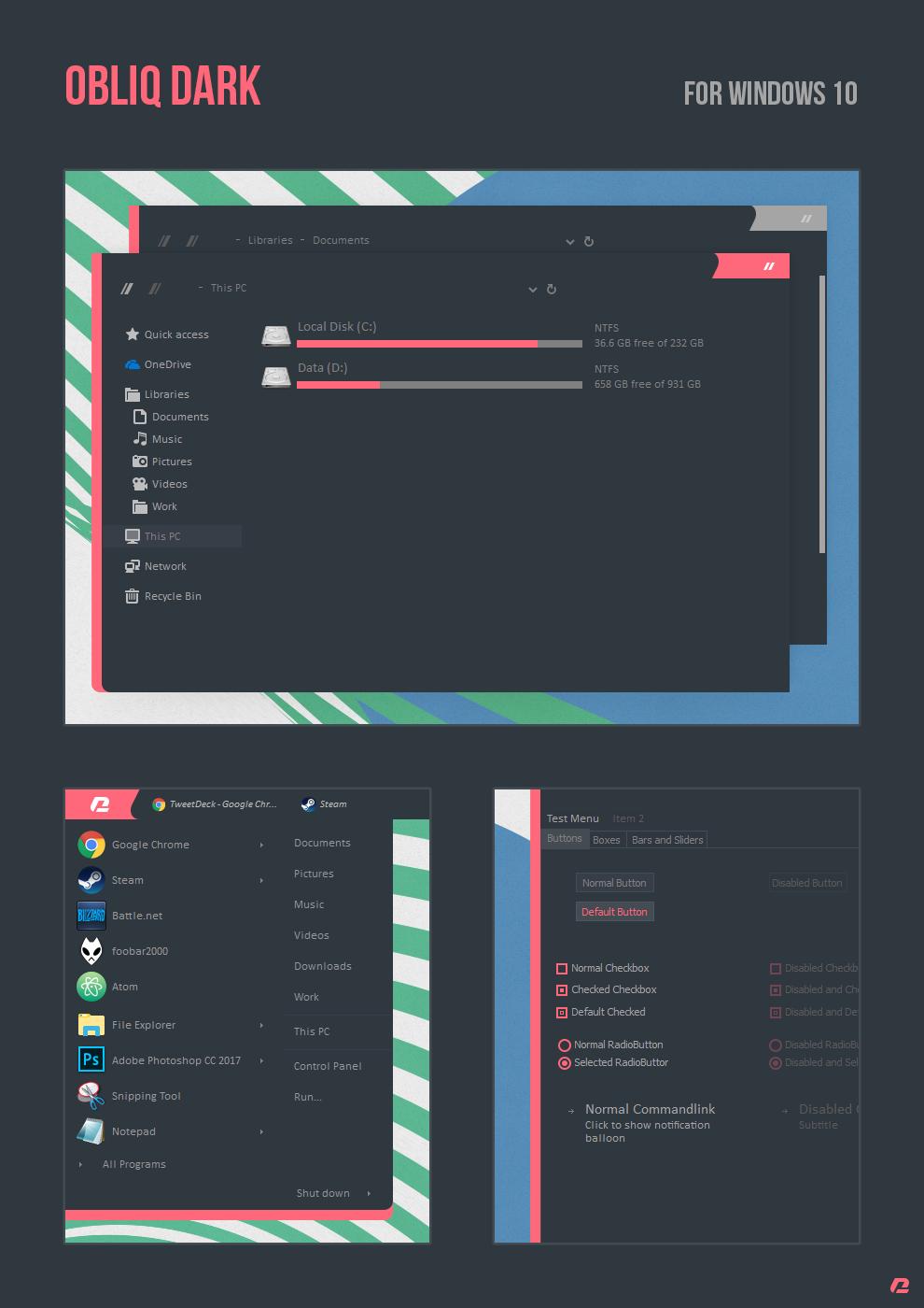 Windows 10 Themes Favourites By IzzuThug On DeviantArt