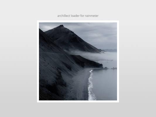 Archillect Loader for Rainmeter