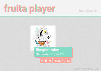 fruita player for rainmeter by undefinist