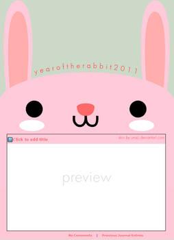 Year of the Rabbit skin
