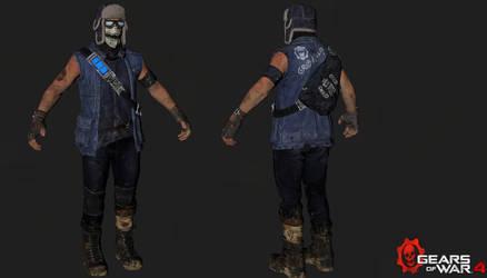Gears of War 4: Gary Carmine / 3D Model by MisakiModding