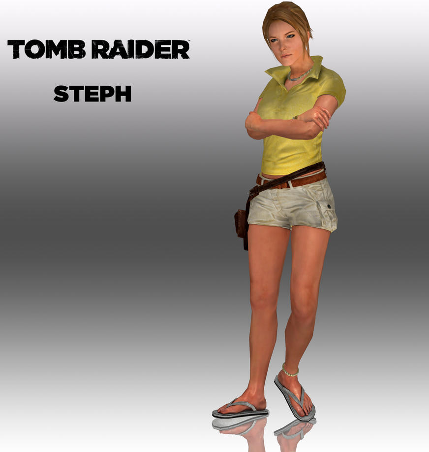 Tomb Raider: Steph by doppelstuff