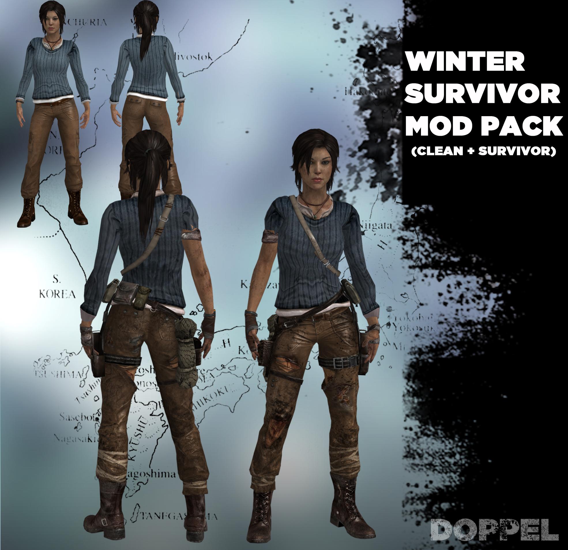 Tomb Raider Lara Winter Mod Pack By Doppelstuff On Deviantart