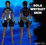 TOMB RAIDER: Sola wetsuit skin (MOD)
