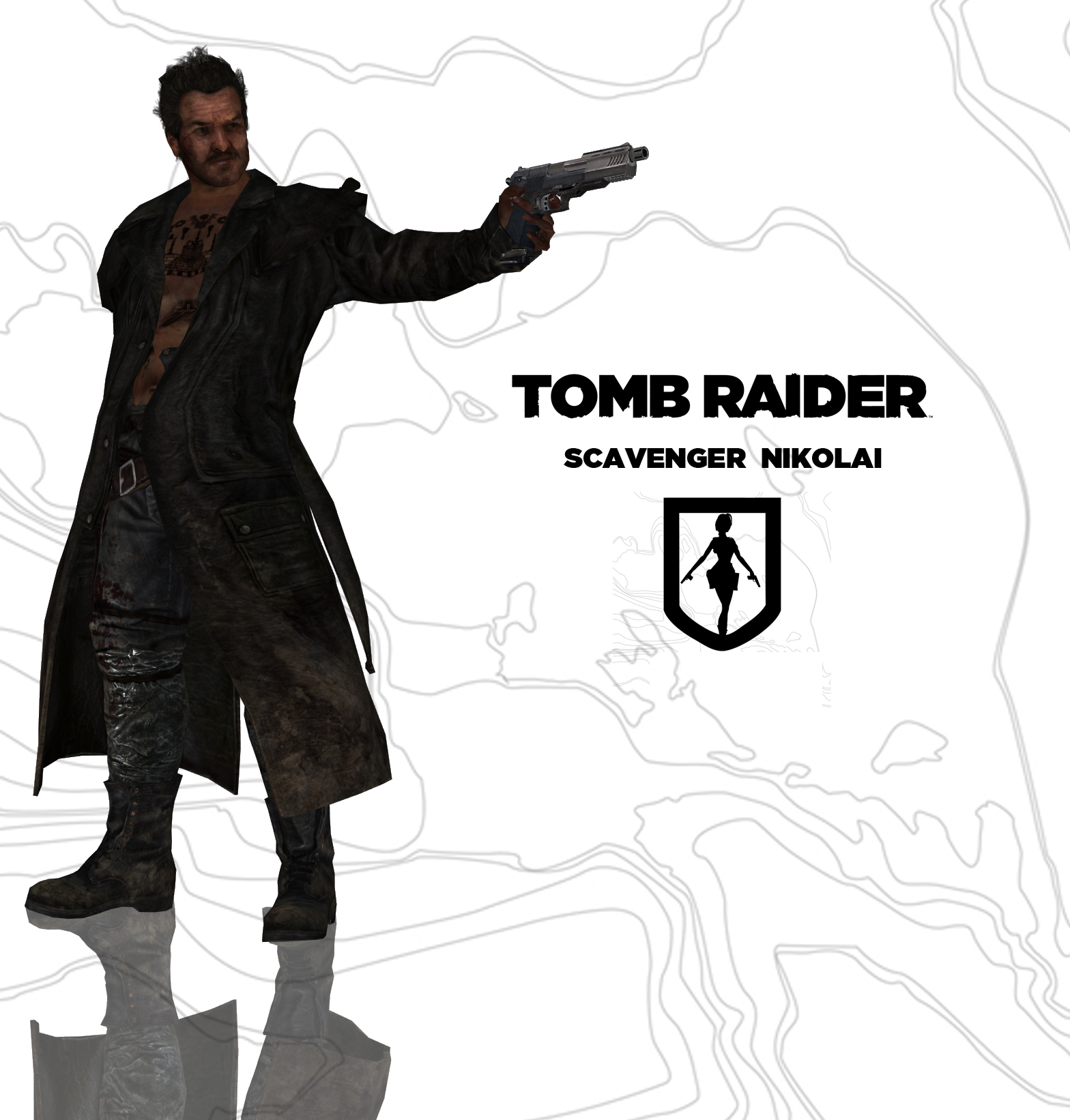 TOMB RAIDER Scavenger Nikolai by doppelstuff