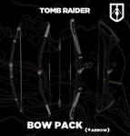 TOMB RAIDER bow pack (+arrow)