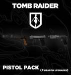 TOMB RAIDER Pistol pack (+weapon upgrades)