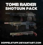 TOMB RAIDER Shotgun pack (+ weapon upgrades)