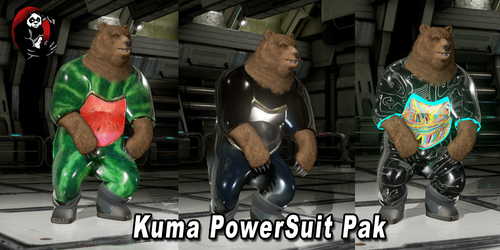 Tekken 7 Character - Kuma Powersuit Pack