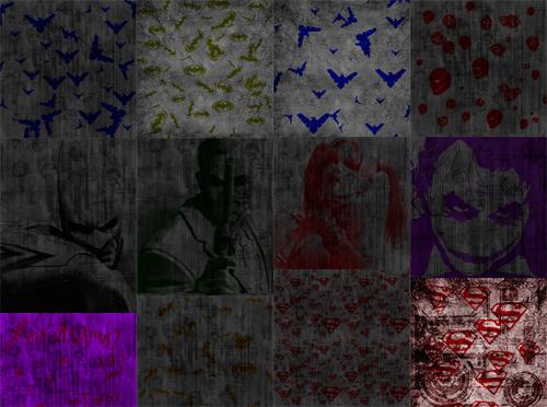Superhero patterns 1 by zutara-canon
