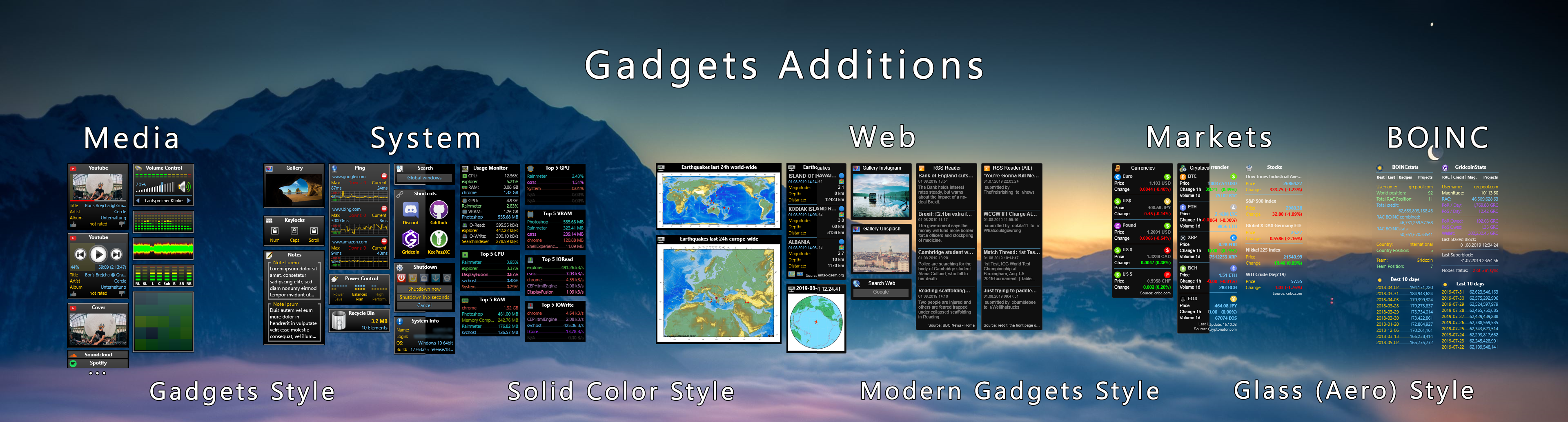 Gadgets Additions 4.3.1