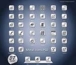 Metal Icons.Psd