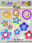 FLOWERS PNG PACK 006