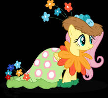 Fluttershy's Rejected Dress by RelaxingOnTheMoon