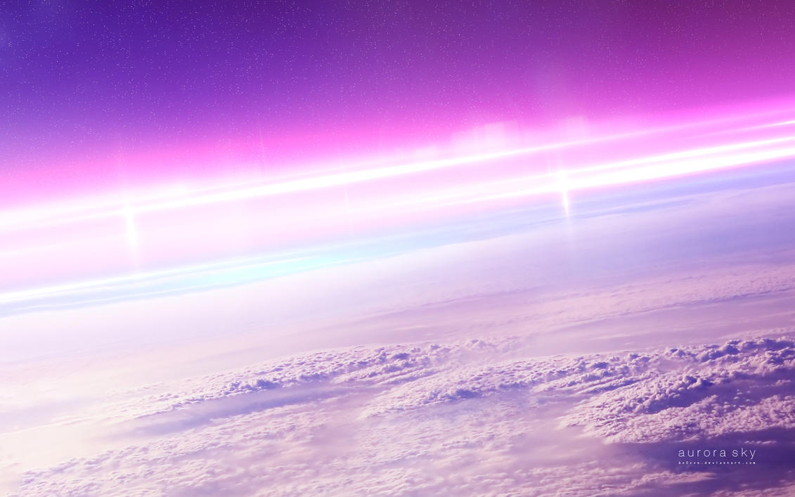 Aurora sky by bo0xVn