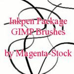 Inkpen GIMP Brushes - updated by magenta-stock