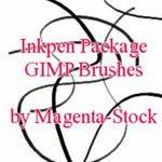 Inkpen GIMP Brushes - updated